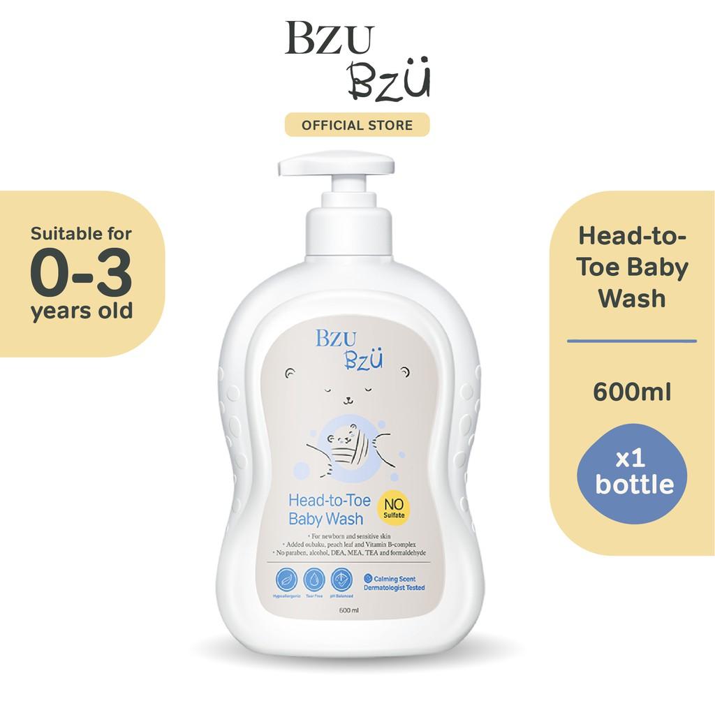 BZU BZU Head to Toe Baby Wash (600ml)