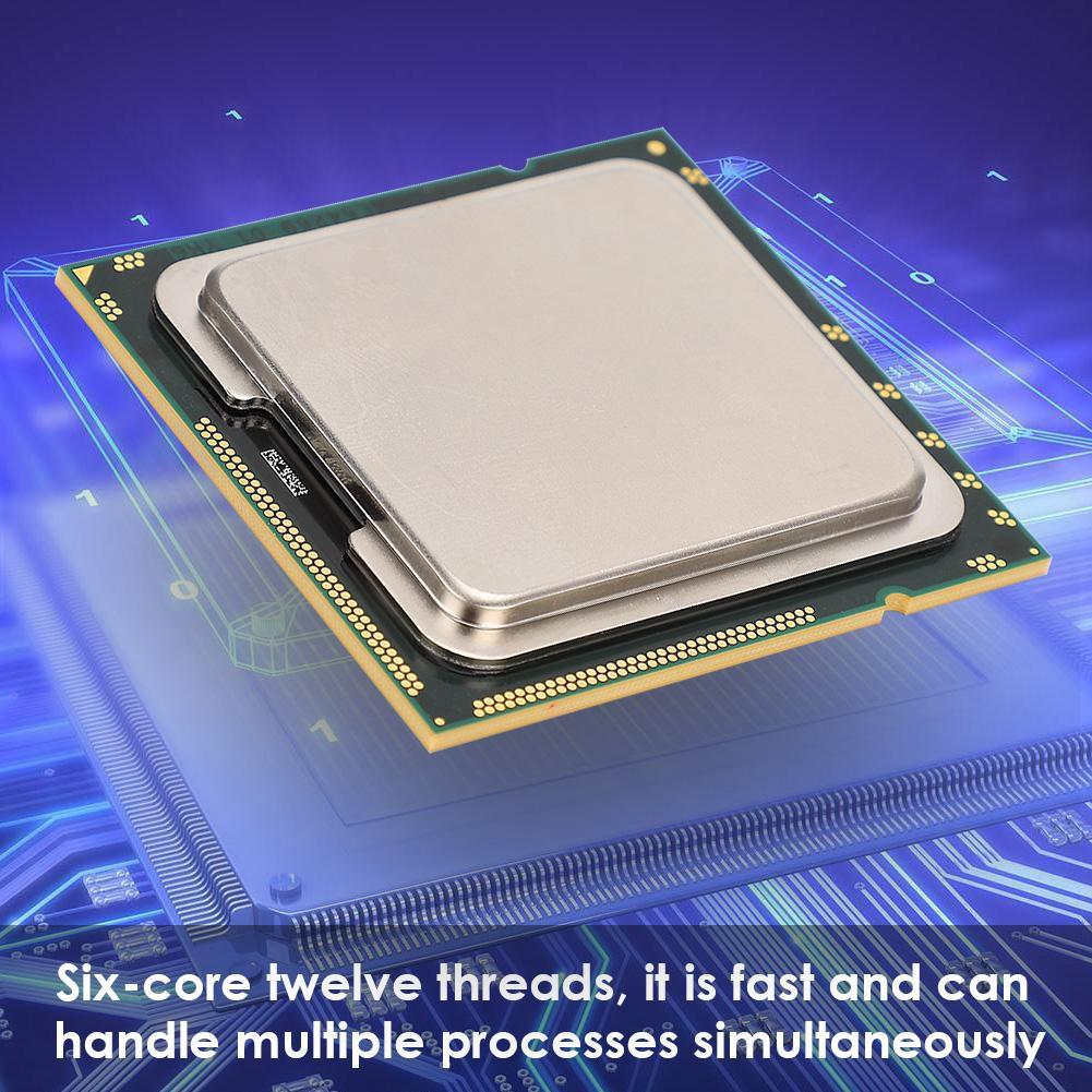 Huida For Intel Xeon X5670 Six-Core Twelve Threads 2 93GHz 12M Cache  LGA1366 CPU