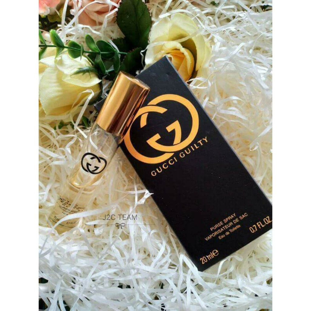 Pocket Perfume Gucci Guilty Edt 20ml Perfume For Men Shopee Malaysia