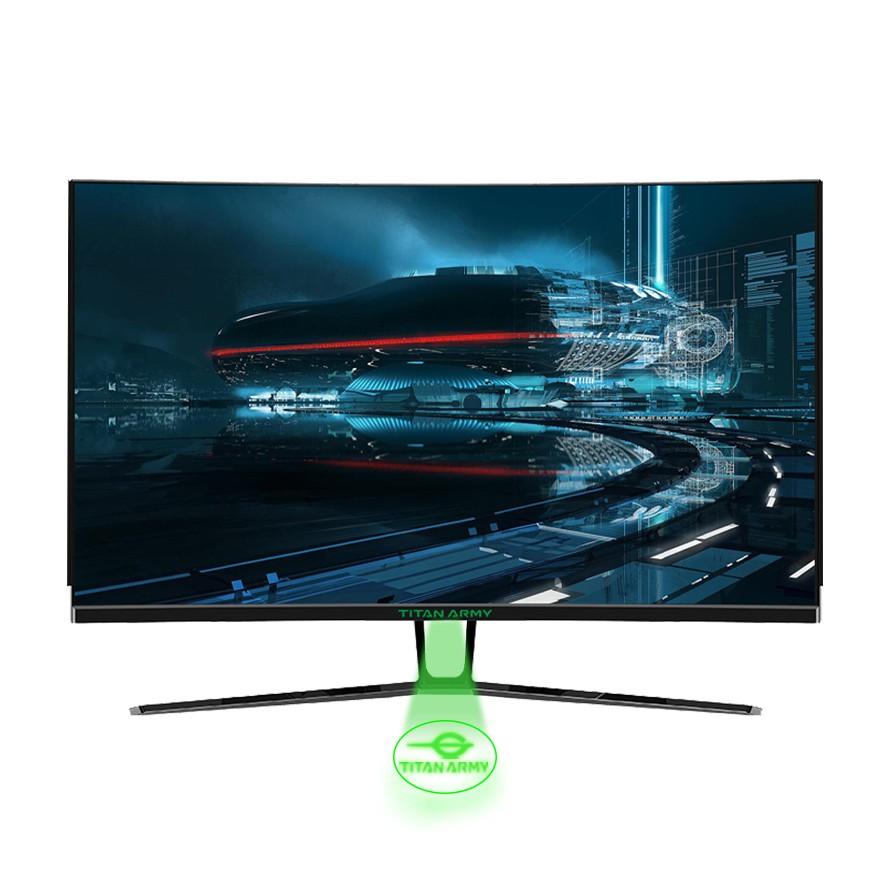 {N32SQ-PLUS} TITAN ARMY 32'' Curved 144HZ 2K Gaming Monitor (Black)