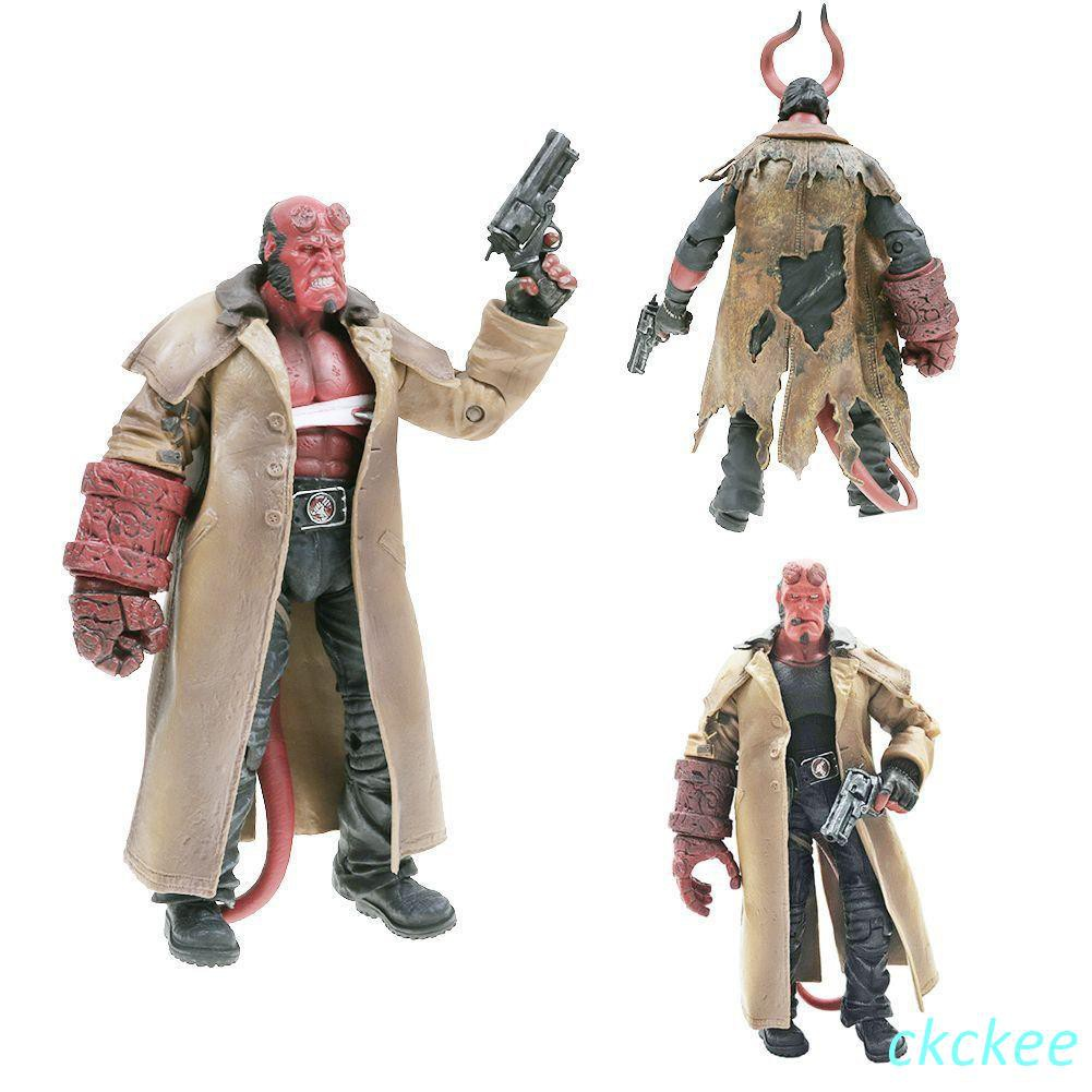 HB SERIES 2 HELLBOY ACTION FIGURES STATUE MODEL COLLECTOR FIGURINES KID TOY GIFT
