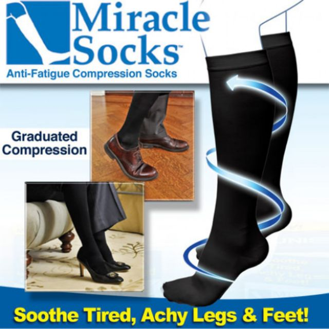 Miracle Socks Anti Fatigue Compression Socks