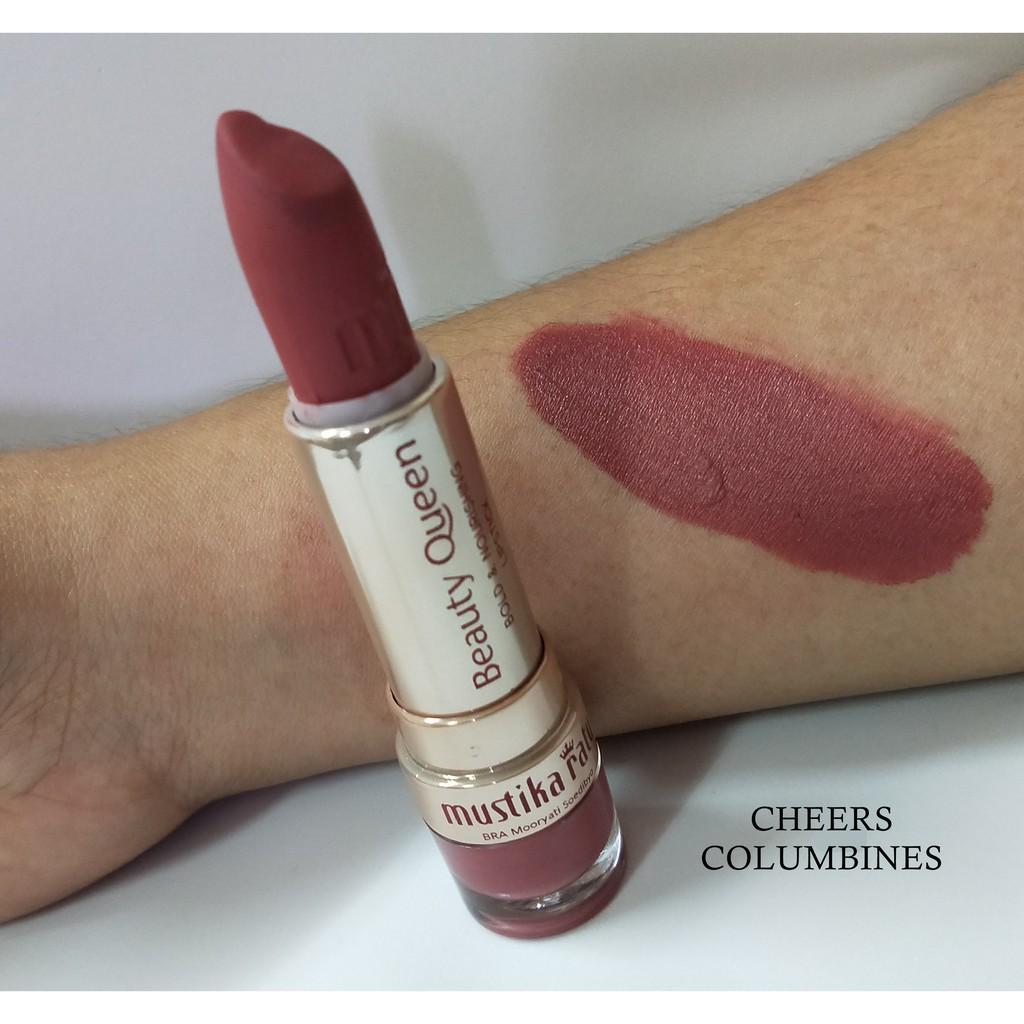Beauty Queen Bold & Nourishing Lipstick CHEERS COLUMBINES [Mustika Ratu]