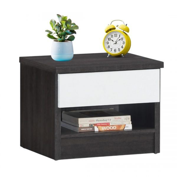 LEA thicker frame 1 drawer bedside table/ nightstand