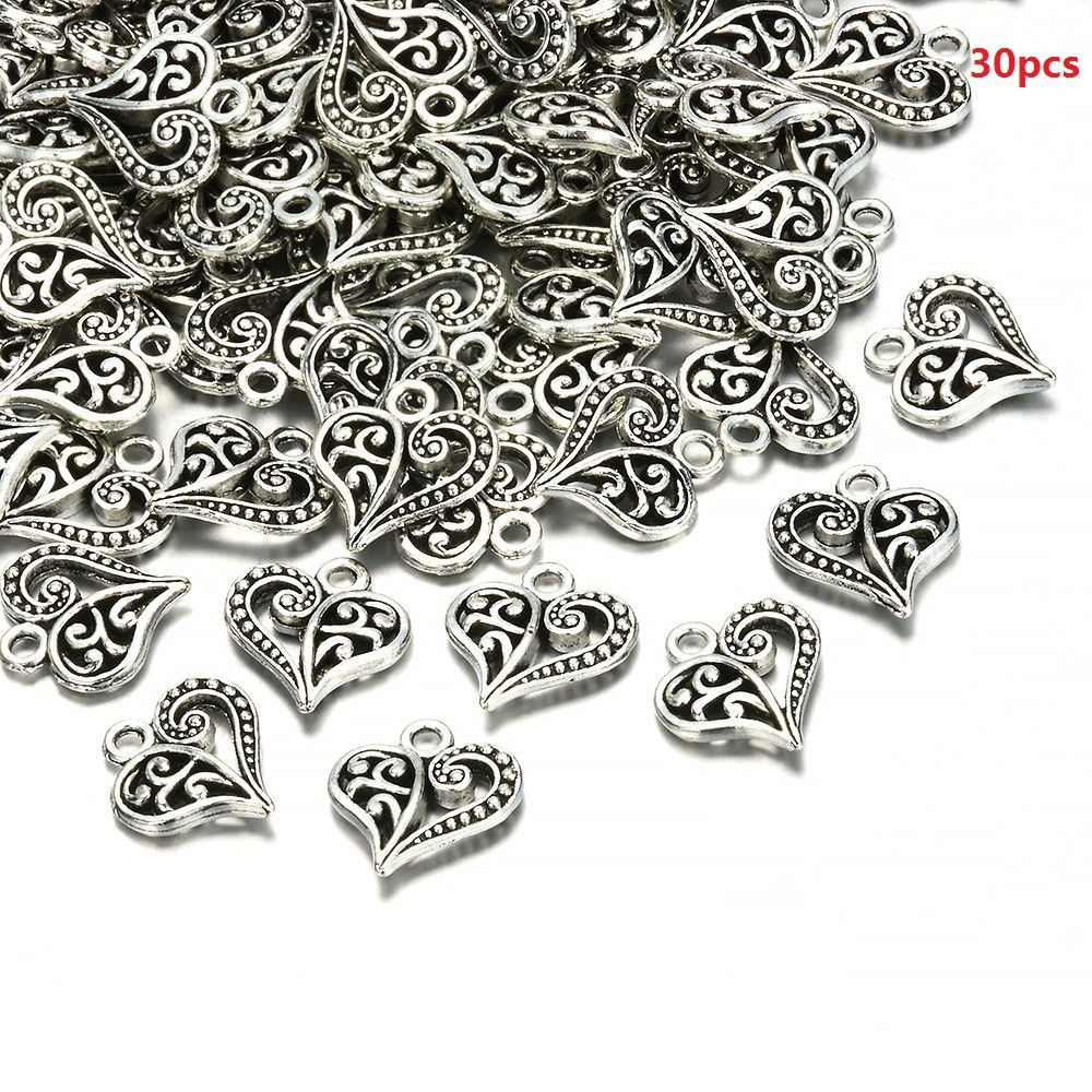 10pcs//set 22*19mm Fashion Sunflower Charms Antique Gold Tone Pendant Bead Making