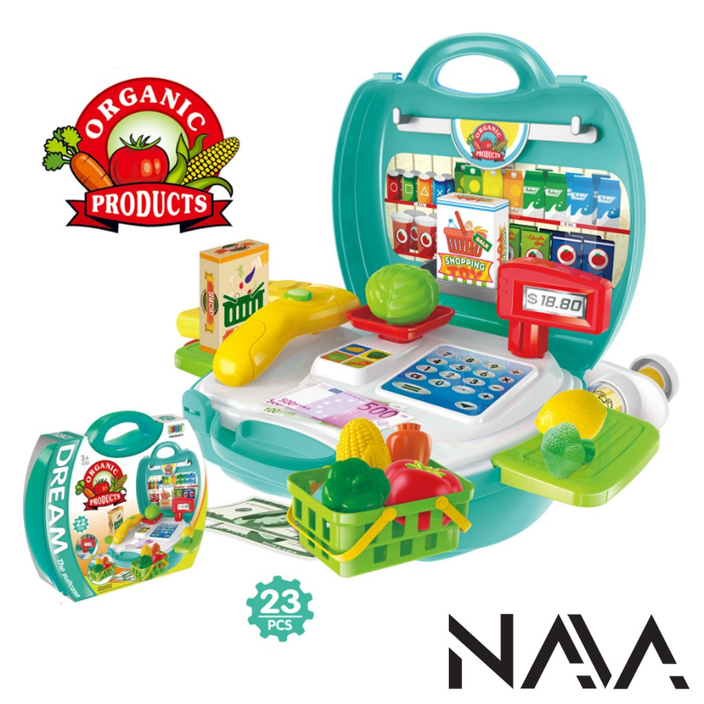 Children Pretend Play Fun Organic Educational Playset (23 Pcs)