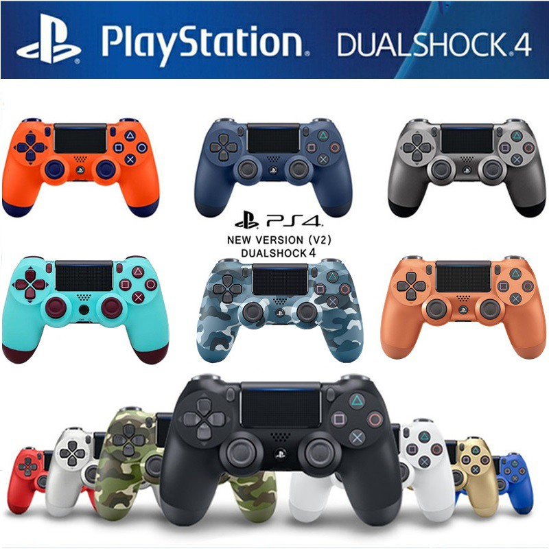 【PROMO】PS4 Controller Version 2 PS4 DualShock 4 Wireless Controllers(1 YEAR  WARRANTY)