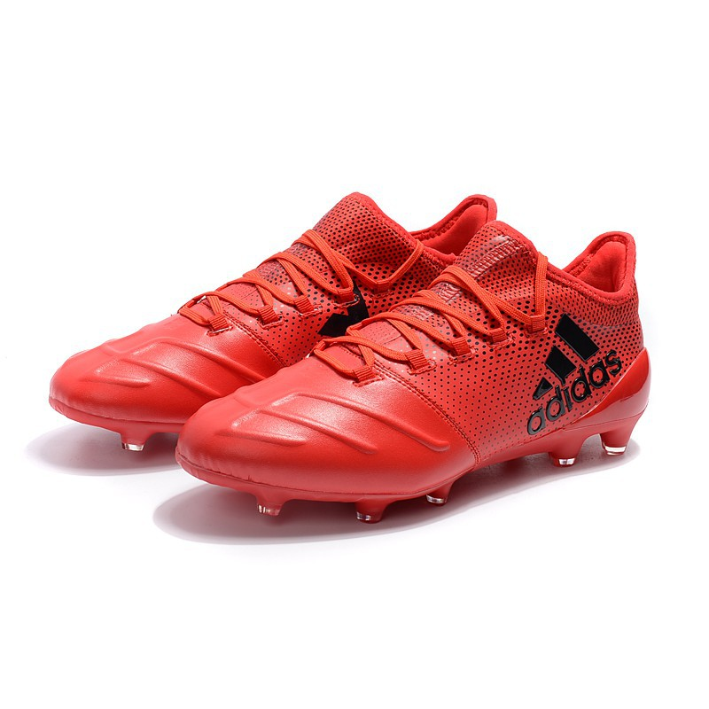 new arrival 598d6 4f66a adidas X 17.1 leather FG Soccer Shoes