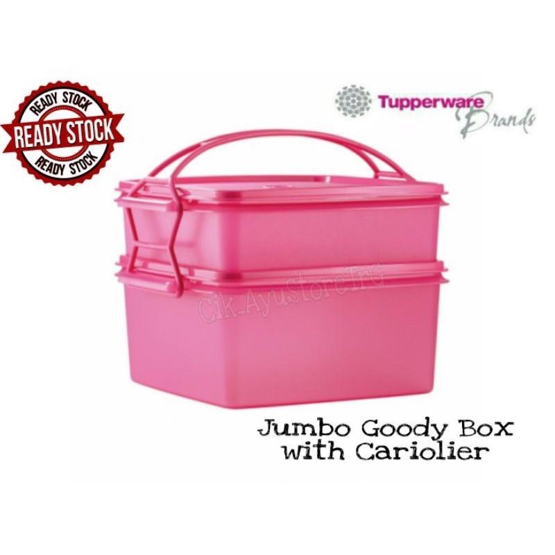 ‼️SALE‼️TUPPERWARE JUMBO GOODY BOX / DOUBLE DEEP WITH CARIOLIER