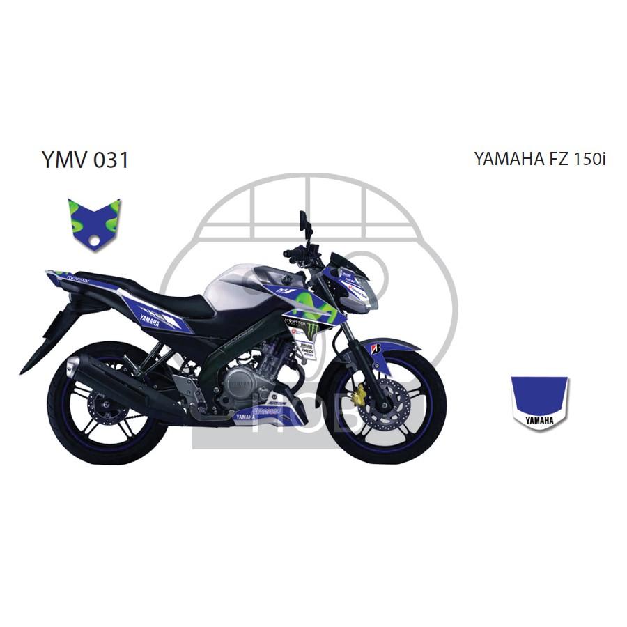Yamaha FZ 150i Movistar Sticker