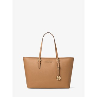 063550fcd03e Michael Kors Jet Set Travel Medium Saffiano Leather Top-Zip Tote | Shopee  Malaysia