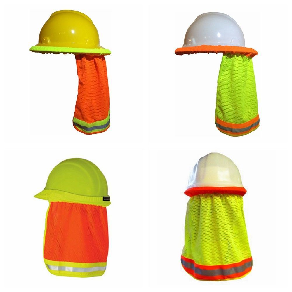 Reflective Shade Shield Protective Hard Hat Summer Safety Helmet Sun Cap  d025e1ce1a4a
