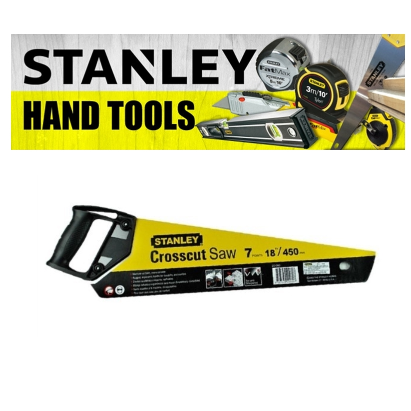 STANLEY PLASTIC HANDLE SAW 20-082/20-083 CUTTING TOOLS CROSSCUT