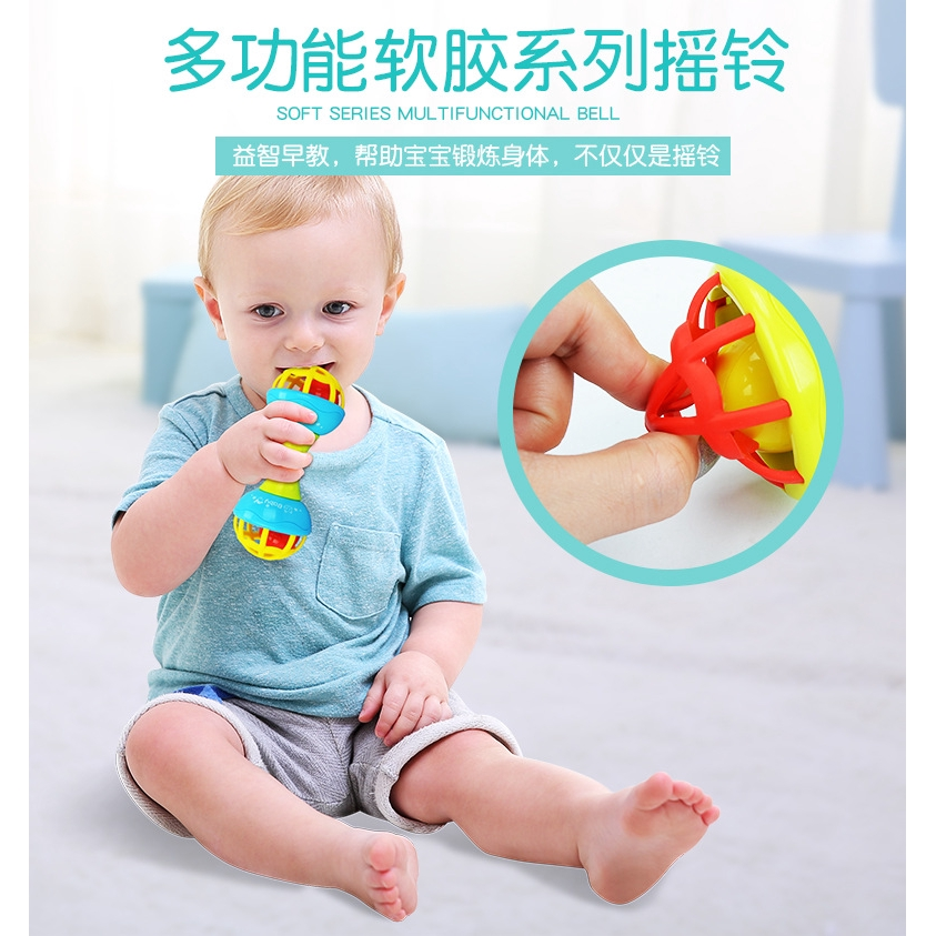Hollow Bouncing Baby Walker Ball Toddler Fun Multicolor Activity Educational Toy