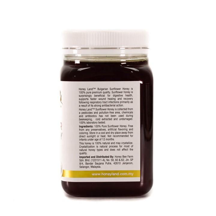 Honey Land™– Sunflower Honey (500g) 100% Madu Lebah Asli
