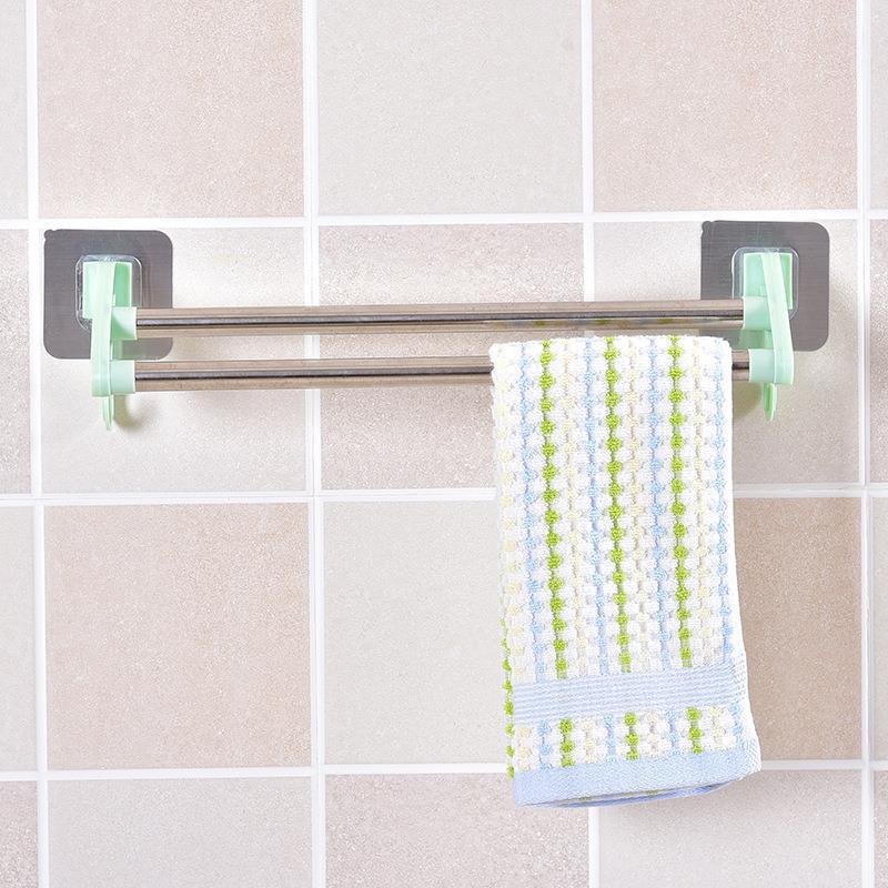 creative self-adhesive multi-purpose rag clip towel hook towel clip 0.018 DF #