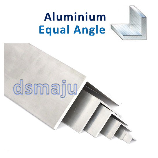 Aluminium Equal Angle Bar 4ft / 6ft Aluminium Angle Corner L Shape