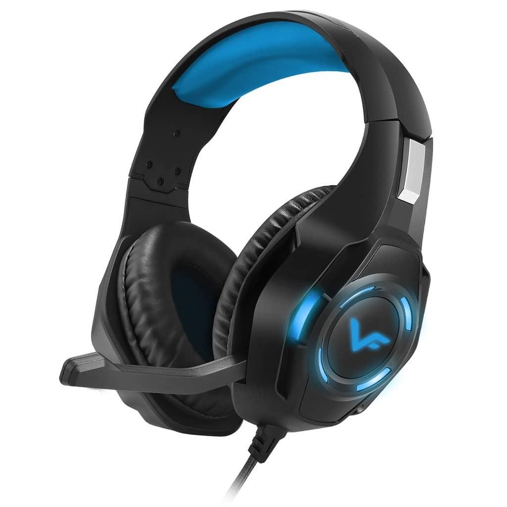Vinnfier Toros 3 Gaming LED Light Headset With Microphone Headphone Headband for Pc Desktop Led Streamer audio