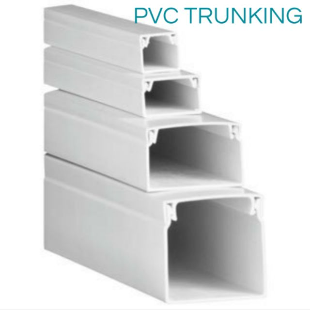 Pvc Trunking For Wiring Use Shopee Malaysia