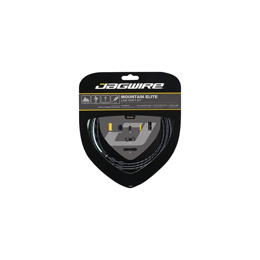 Limited Edition Jagwire Mountain Elite Link Shift Cable Kit SRAM//Shimano