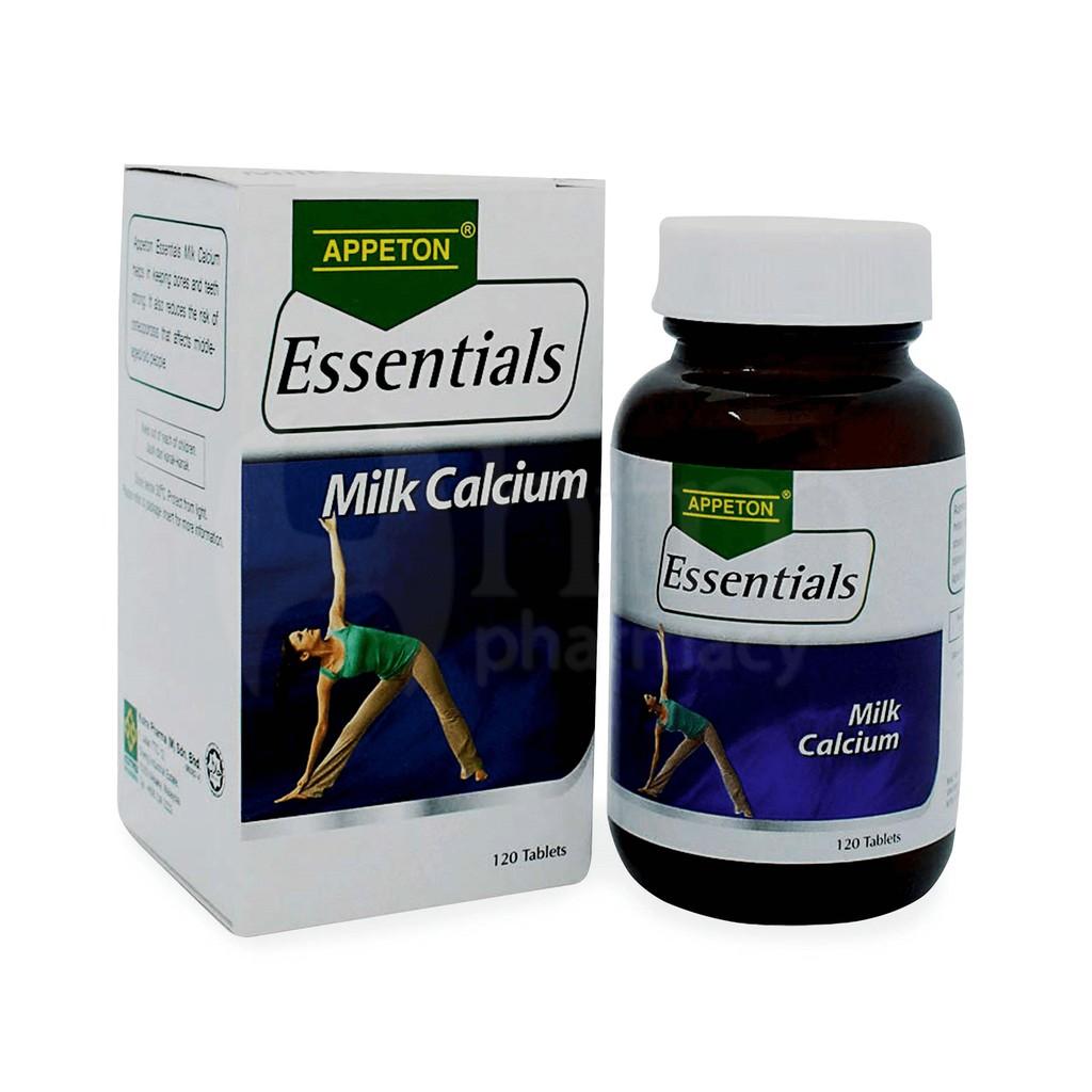 Appeton essential milk calcium 120\'s