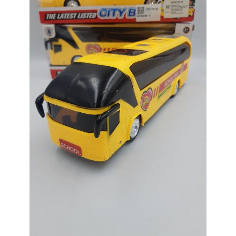 FREE BATTERY CITY SCHOOL BUS FOR KIDS TOYS.