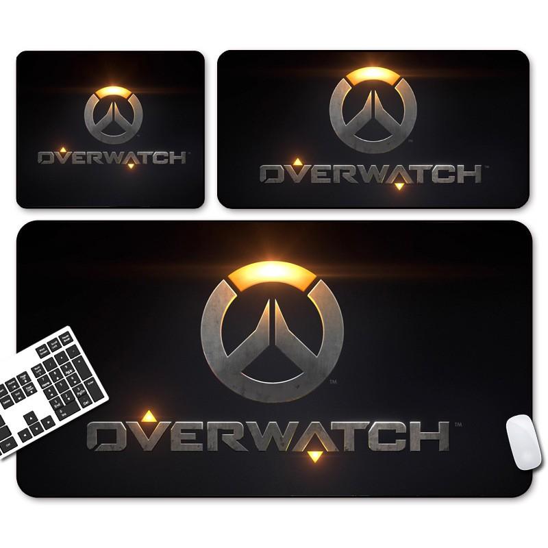OW Overwatch LOGO Large Gaming Mouse Pad Locking Mousepad