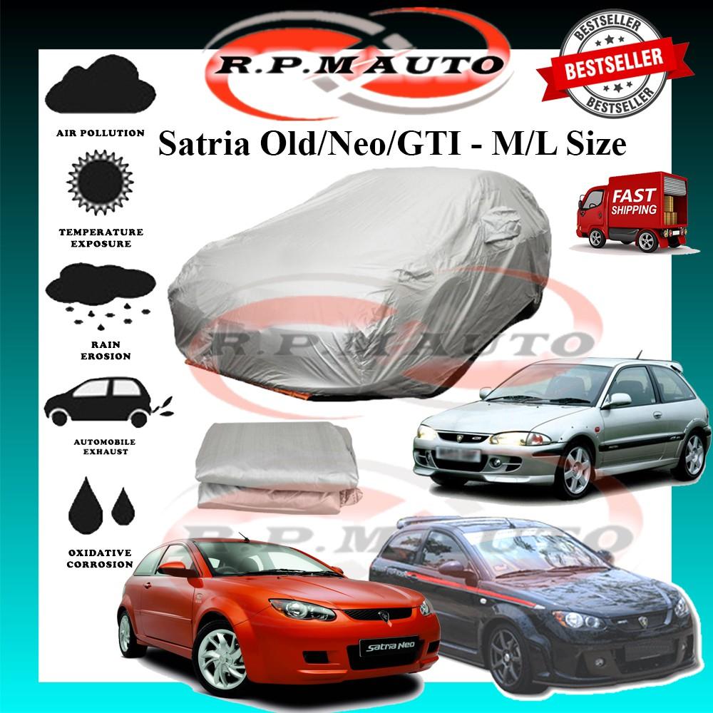 Proton Satria Old Neo GTI High Quality Yama Car Cover - M/L Size selimut kereta satria car cover satria neo satria old
