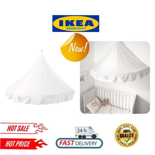 Ikea Rodhake Children Bed Canopy Shopee Malaysia