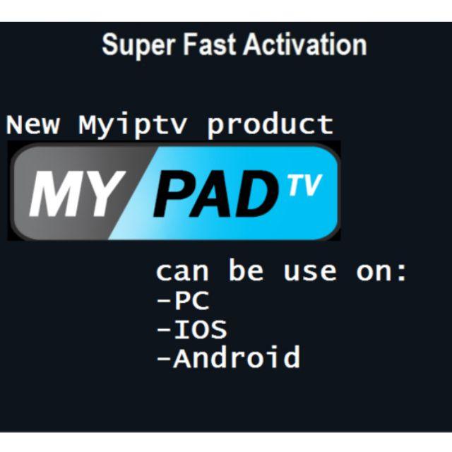 MYPADTV PINCODE