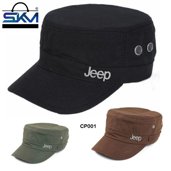 682869a0 Jeep Cadet Flat Top Hats Adjustable Army Military Castro Snapback Caps |  Shopee Malaysia