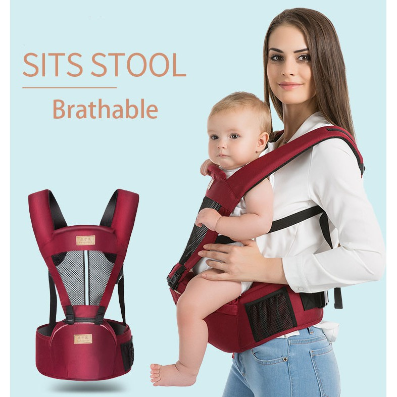 Newborn Baby Carrier Kid Toddler Waist Hip Seat Wrap Belt Sling Backpack Sling