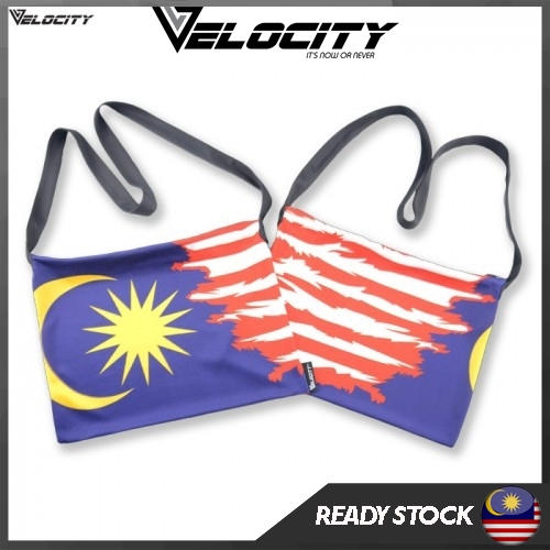 [READY STOCK] Velocity Velocool Sport Sling Bag Malaysia Flag For Men or Women
