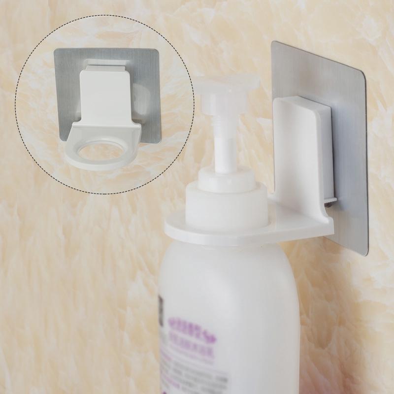 Shower Hanger Holder Wall Mounted Shampoo Soap Bottle Hanging Organizer Hook