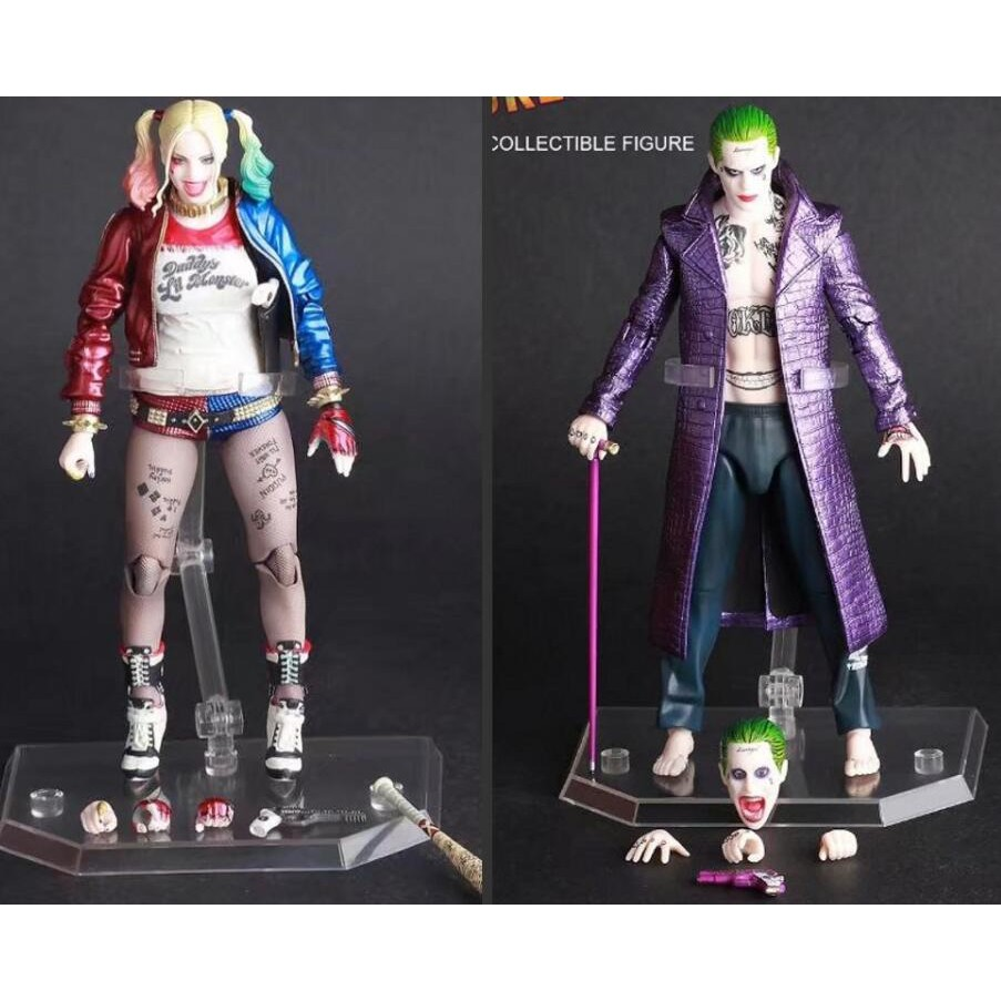 DC Crazy Toys Suicide Squad Joker 1//6TH Real Clothes PVC Play Action Figure New