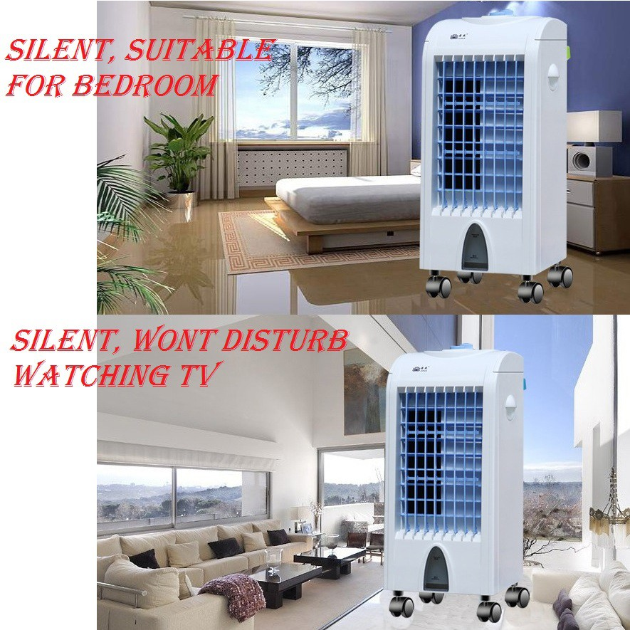 Big Wind Evaporative Air Cooler Free Ice Bottle Enghong Powerful Air Cooler Shopee Malaysia