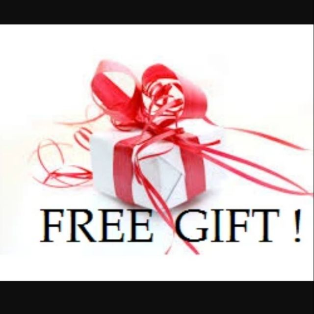 Free Gift for any order over RM19.90