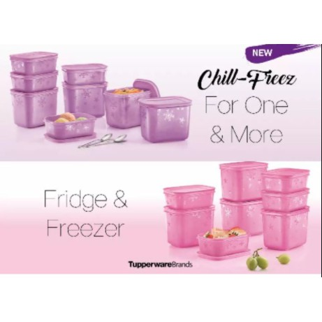 Tupperware Chill Freeze Set (8 pcs)