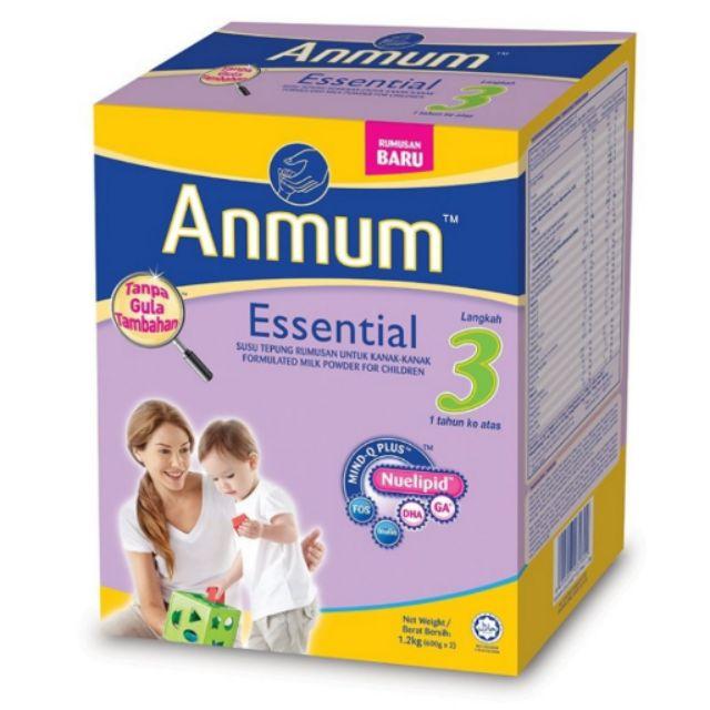 Anmum Essential Step 3 (Plain) 1.1kg