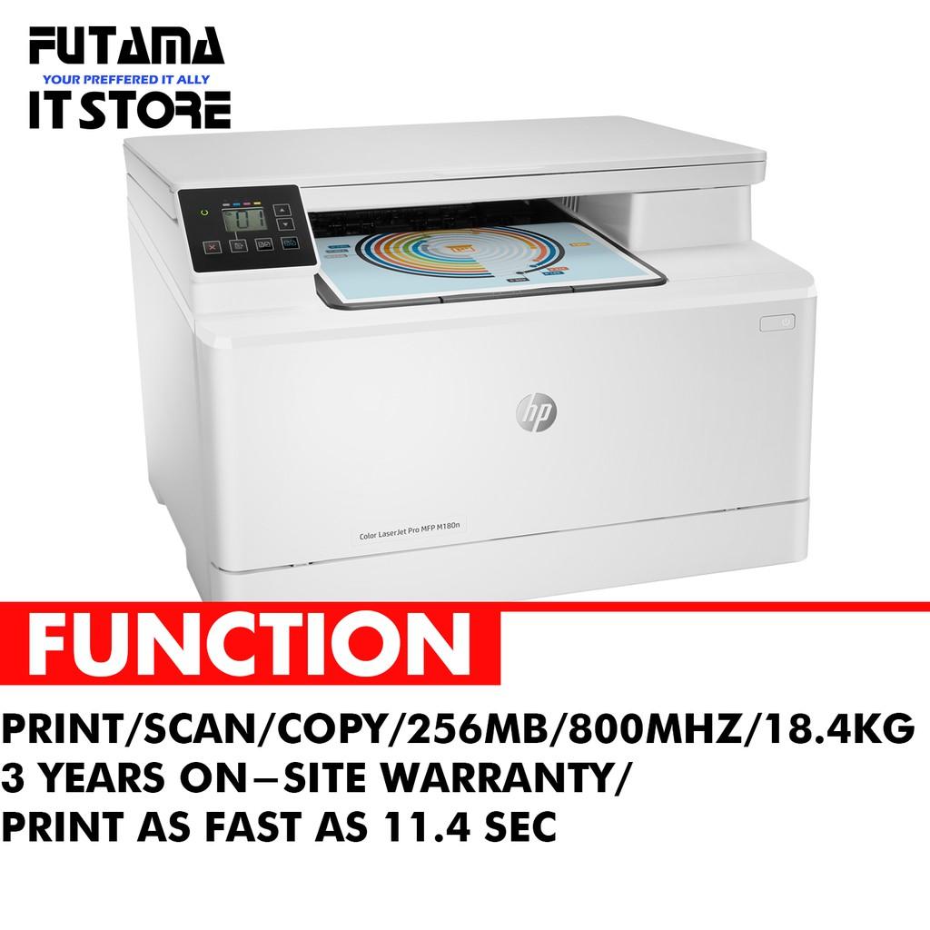 HP Color LaserJet Pro MFP M180n Printer T6B70A