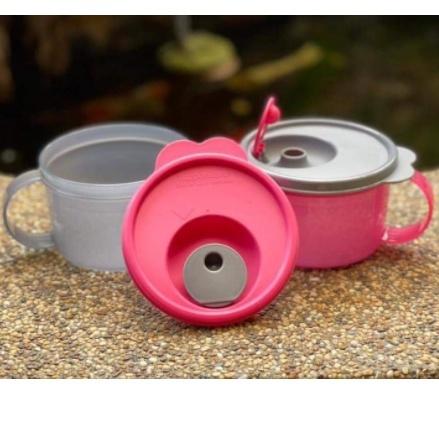 Tupperware: Crystalwave Soup Mug 1/2 pcs