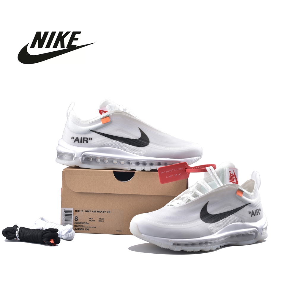 first rate ba864 6b359 Nike Air Max 97 Off-White White The Ten Sport Shoes