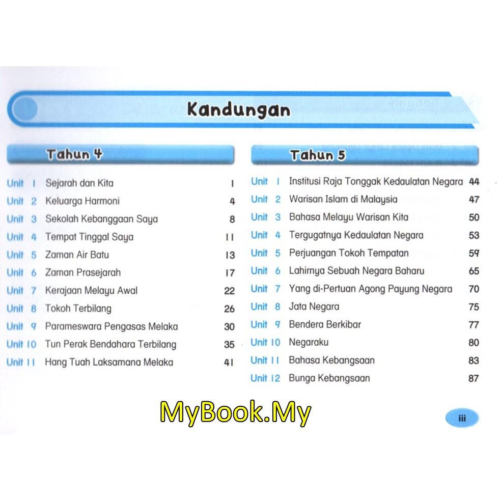 Myb Buku Rujukan Nota Revisi Poket Upsr Tahun 4 5 6 Sejarah Ilmu Bakti Shopee Malaysia