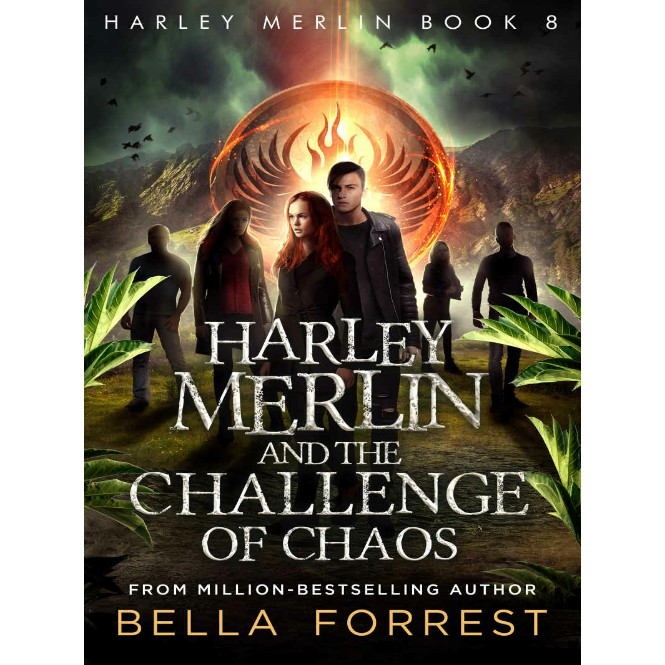 EBOOK Harley Merlin Series Books 1-8 by Bella Forrest (Secret Coven,  Mystery Twins, Stolen Magicals, Challenge of Chaos)
