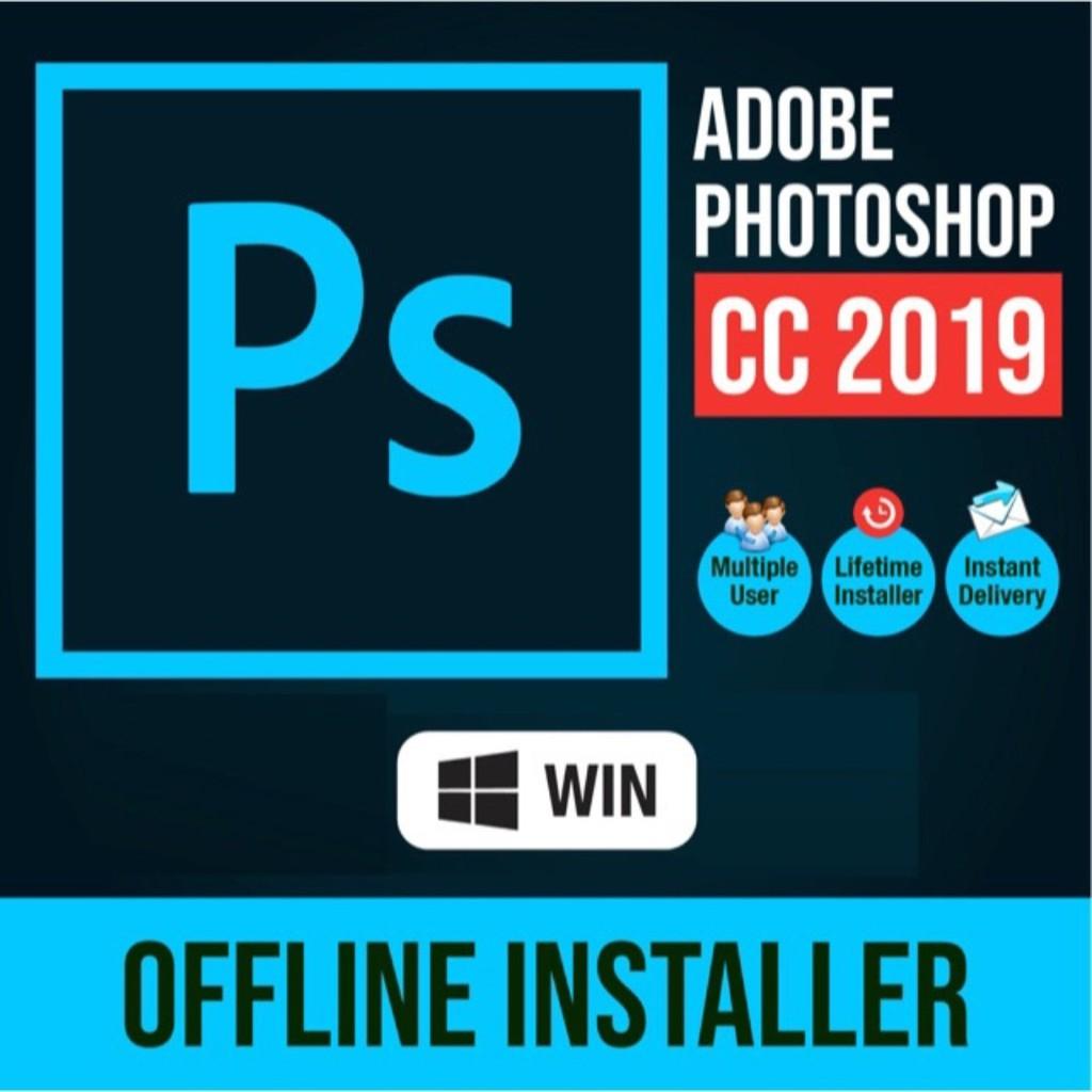 Adobe Photoshop CC 2019/2018 Latest Version All Windows 7,8,10 (32bit I  64bit)