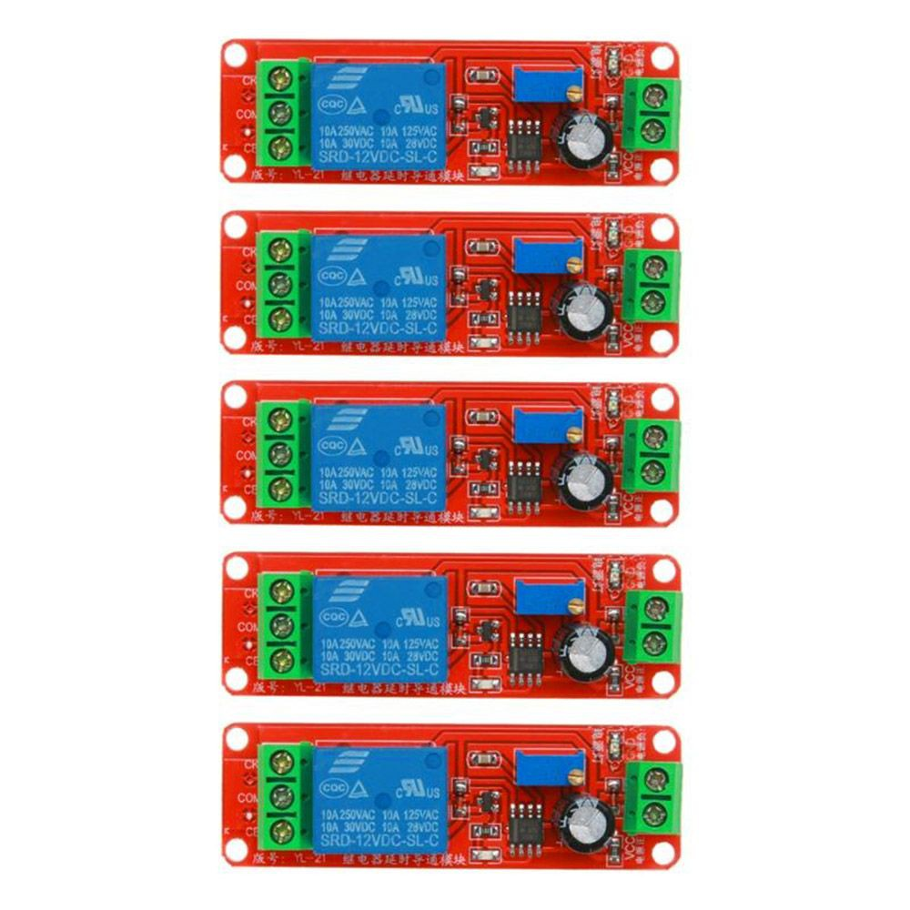 Delay Control Switch Time Relay Module Board Over Voltage Protection 1pcs 12v Dc Turn On Off Shopee Malaysia