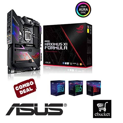 Asus Rog Maximus Xi Formula + Intel CPU Combo