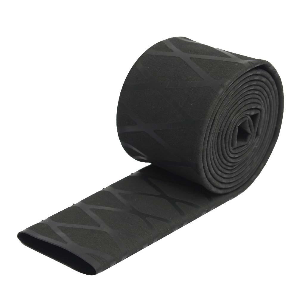 Non Slip Fishing Rod Handle Textured Heat Shrink Wrap Tubing 35mm