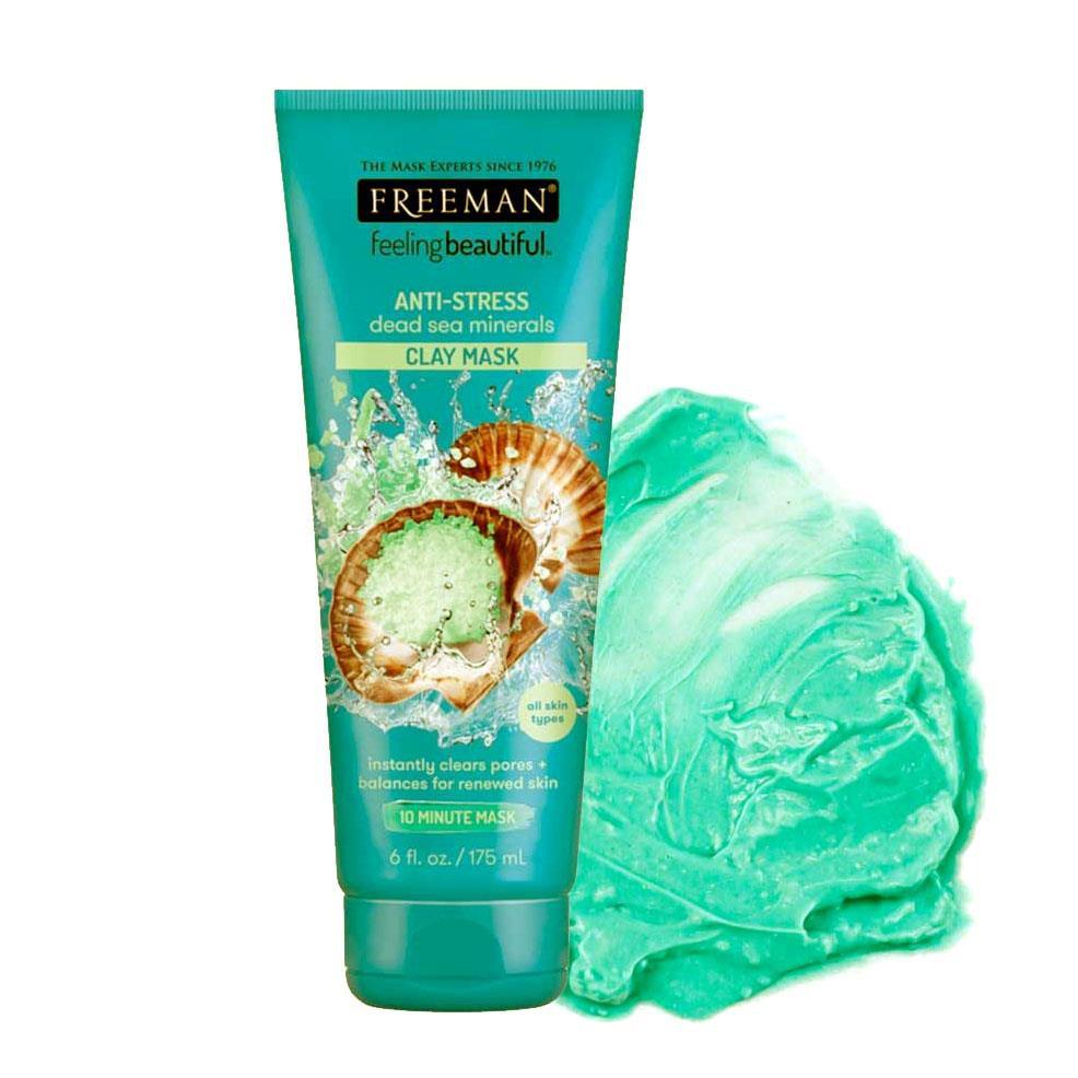 Freeman Anti-Stress Dead Sea Minerals Clay Mask 175ml