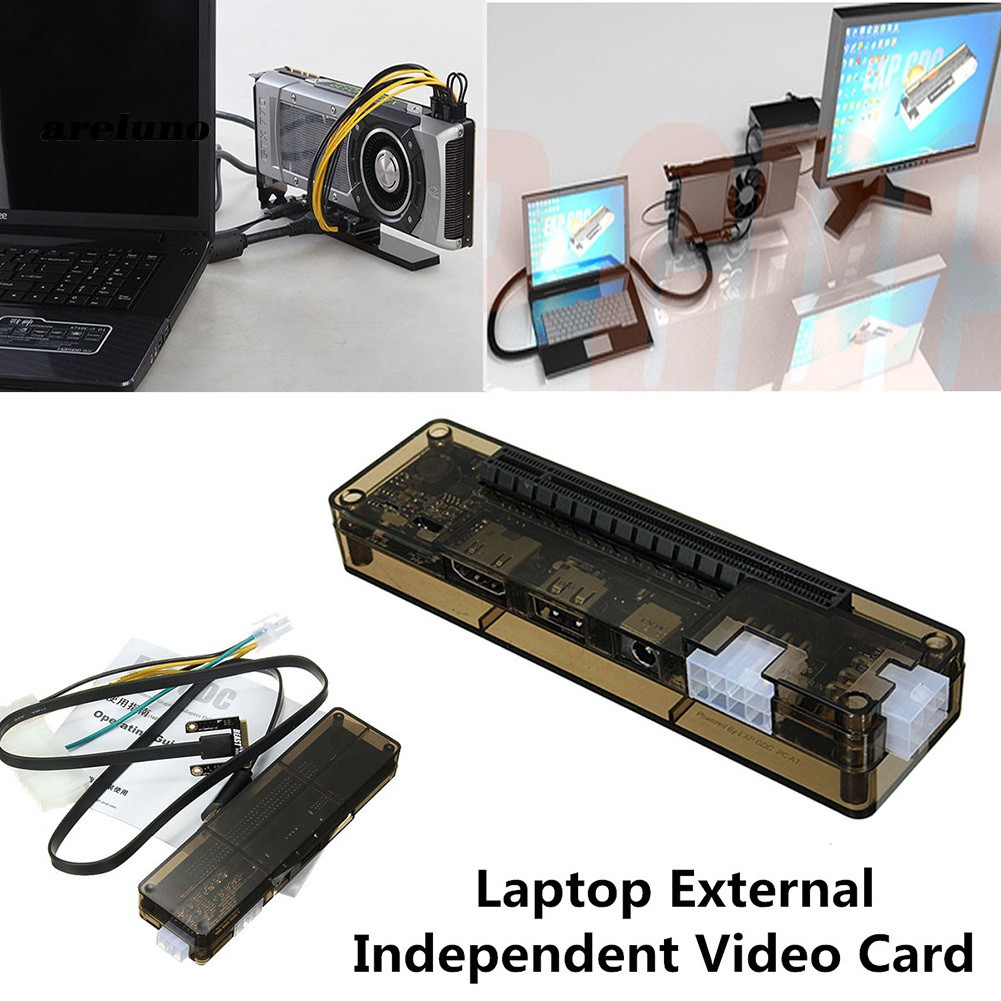 AE♥Mini PCI-E V8 0 EXP GDC Laptop External Independent Video Card Dock for  Beast